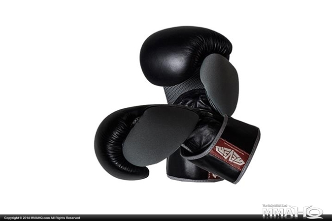 Seven American Boxing Gloves - Black